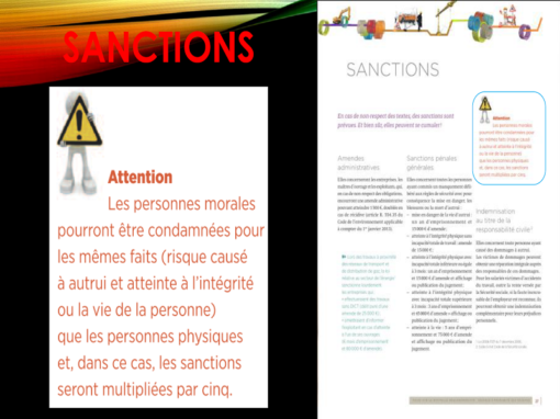 Pas de détection = Sanctions !