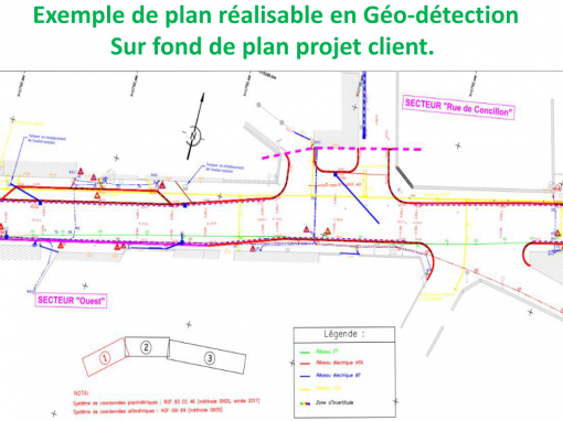 Exemple de plan Géo référencé